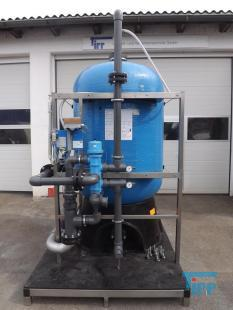show details - pressure vessel, pressure tank / gravel filter / activated carbon filter