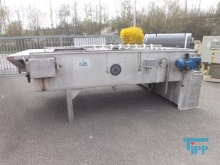 show details - Belt thickener / belt filter made of stainless steel