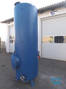 show details - steel rubberized pressure tank