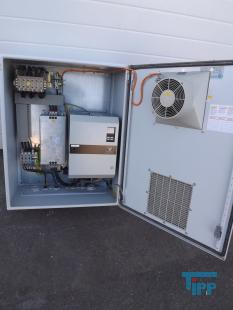 show details - 42 kVA VECTRON frequency converter