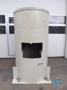 show details - 0,45 m³ sedimentation tank with conical bottom made of polyethylene PPdge tanks