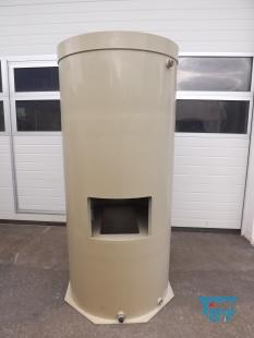 show details - 0,3 m³ sedimentation tank with conical bottom made of polyethylene PP