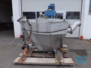 show details - sand setteling tank with washer stainless steel