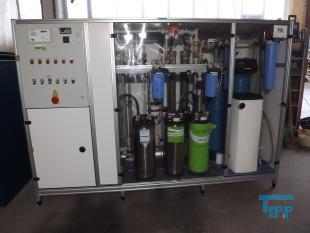 show details - ultra pure water system with reverse osmosis and ionexchanger