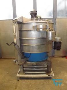 show details -  Vibrating sieve, vibrating sieve with 3 sieve stages