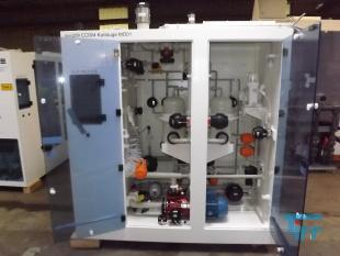 show details - chemical dosing cabinet with electric control