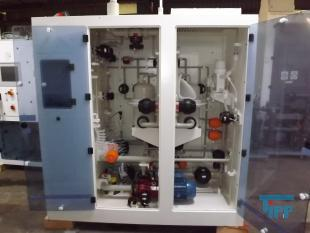 show details - chemical supply system, dosing station in the cabinet