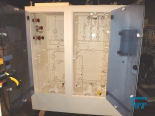 show details - chemical supply system, dosing station in cabinet