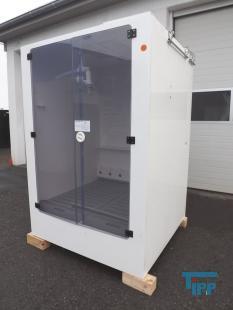 show details - chemical supply system IBC, cabinet dosage station