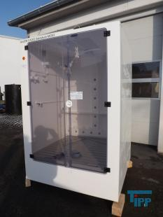 show details - clean room cabinet, IBC module, Storage tank for aggressive and corrosive chemicals
