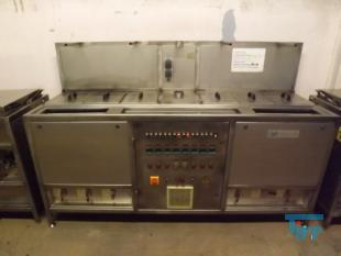 show details - dyeing basin / dyeing plant made of stainless steel with heating and sink