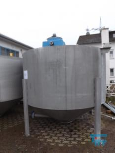 show details - mixing tank with conical bottom and jetstream mixer