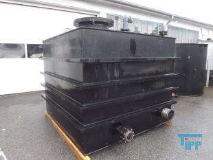 show details - tank made of polyethylene with flat bottom / rectangular tank / treatment tank / storage tank / tank