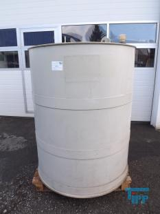 show details - flat bottom polypropylen tank / round tank / treatment tank / storage tank / tank