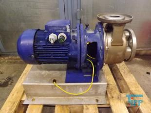 show details - centrifugal pump pump head made of stainless steel