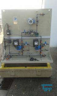show details - dosing plant, dosage station with pump