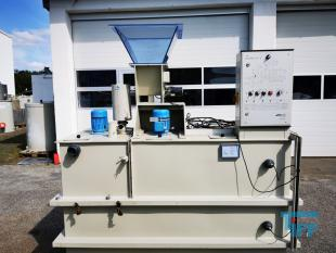 show details - polymer preparation unit with powder dosage and 2 excentric srew pumps/ polymer station