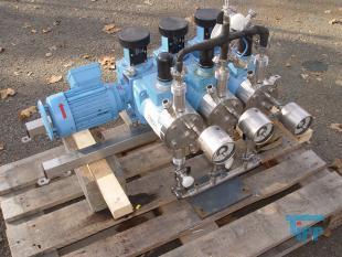 details anzeigen - Kolbenmembranpumpe / Dosierpumpe / Hochdruckdosierpumpe / Hochdruckprozesspumpe / Chemikaliendosierpumpe