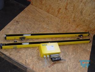 details anzeigen - Lichtvorhang / Lichtschranke für große Kammerfilterpressen