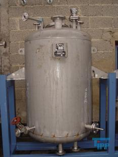 details anzeigen - Edelstahlbehälter; Edelstahl-Lagertank, Druckbehälter, Vakuumkessel