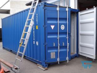 details anzeigen - Abwasserbehandlungsanlage in Seecontainer montiert, Chargenbehandlungsanlage
