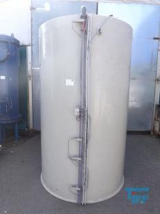 details anzeigen - Behälter mit Flachboden aus Polypropylen, PP-Behälter/Rundbehälter / Speicherbehälter / Behandlungsbehälter