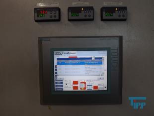 details anzeigen - Schaltschrank mit Frequenzumrichtern, Anlagensteuerung, Schaltschrank mit Prozessvisualisierung
