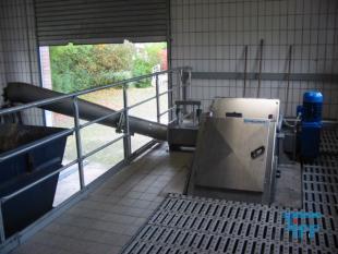 details anzeigen - Stufenrechen mit Schneckenwaschpresse, Feinrechenanlage, Siebrechen, Filterstufenrechen
