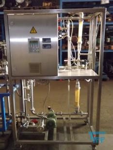 details anzeigen - Mikrofiltrationsanlage, Pilotanlage, Membrantestanlage, Membranfiltrationsanlage