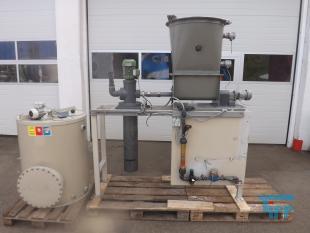 details anzeigen - Dosieranlage, Polymeransetzstation, Ansetzstation mit Pulverdosierer, Aufbereitungsanlage für pulverförmige Stoffe