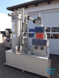 details anzeigen - Gaswäscher 2-stufig plus ein dritter Wäscher/Biogaswäscher/Luftwäscher/Versuchsanlage