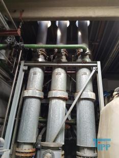 details anzeigen - Dünnschichtverdampferanlage, Verdampferanlage, Aufkonzentrierung bis zum Trockenstoff