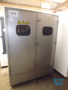 details anzeigen - Chemie- Versorgungssystem für Lösungsmittel mit Druckluftmembranpumpen