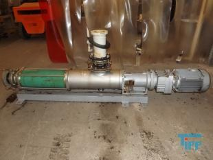 details anzeigen - Exzenterschneckenpumpe; Exzenter-Schneckenpumpe mit Edelstahlpumpenkopf