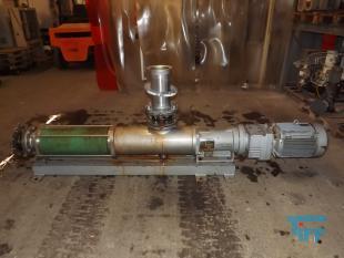 details anzeigen - WANGEN-Exzenterschneckenpumpe max. 80m³/h; Exzenter-Schneckenpumpe mit Edelstahlpumpenkopf