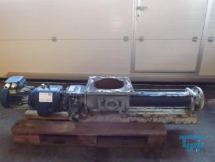 details anzeigen - Exzenterschneckenpumpe; Exzenter-Schneckenpumpe auf Grundplatte montiert; Rachenpumpe; Trichterpumpe