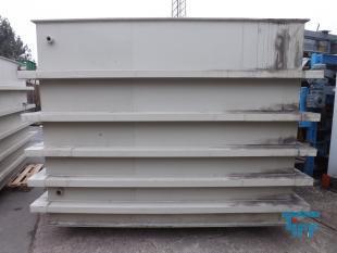 details anzeigen - Reckteckbehälter / Rührwerksbehälter / Behandlungsbehälter / Speicherbehälter / Chargenbehälter / Neutralisationsbehälter