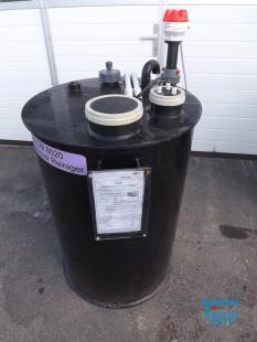 details anzeigen - Rundbehälter  /Reinigungsbehälter / Dosierbehälter / Speicherbehälter