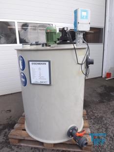 details anzeigen - Rührwerksbehälter / Behandlungsbehälter / Speicherbehälter / Durchlaufneutralisationsbehälter mit pH-Regler und Rührwerk