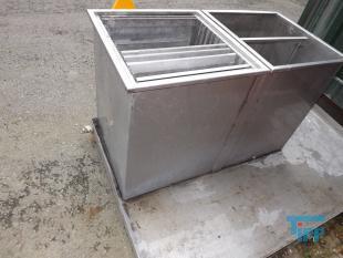details anzeigen - Waschstation / Lagerstation für Siebeinsätze aus Pumpvorlagen