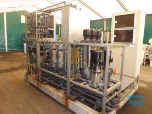 details anzeigen - Hochdruck-Umkehrosmoseanlage mit Flachmembranen, Sickerwasserkonzentrat