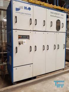 details anzeigen - H2O Vakuumverdampfer / Verdampferanlage / Abwasseraufbereitung zur Kreislaufführung an Pulverbeschichtungsanlagen