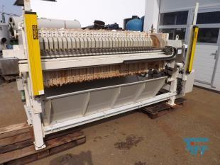 details anzeigen - MSE-Kammerfilterpresse mit geschlossenem Filtratablauf und automatischer Plattenverschiebung