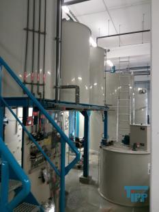 details anzeigen - ANTECH Abwasser-Aufbereitungsanlage / Abwasseranlage / Fällungs- Flockungsanlage für ca. 10 m³/h /