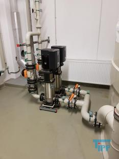 details anzeigen - GRUNDFOS Pumpstation/ 2 Kreiselpumpen mit Frequenzumformer /Druckerhöhung/Pumpe