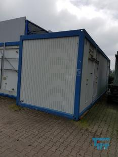details anzeigen - POLIGRAT-Sprueh-Beizanlage in zwei Containern mit Wasserkreislauffuerung und Abwasserbehandlung