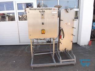 details anzeigen - APV Wärmetauscherstation / Plattenwärmetauscher / Wärmetauscher