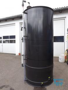 details anzeigen - Rundbehälter / offener Speicherbehälter / Lagertank