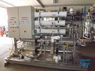 details anzeigen - SETEC 2-stufige Hochdruck-Umkehrosmoseanlage / Versuchsanlage / Membranfilteranlage