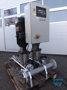 details anzeigen - GRUNDFOS HYDRO 2000 Pumpstation /  Kreiselpumpe mit Frequenzumformer / Hochdruckpumpe                                                                  umpe
